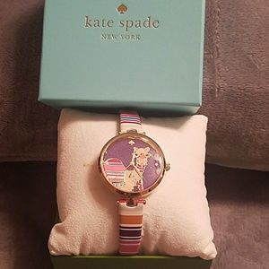 Kate Spade Camel watch